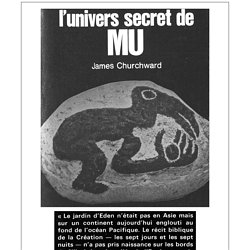 L'univers secret de MU