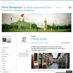 Paris (in)aperçu