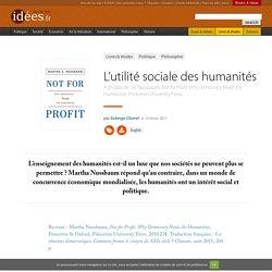 L'utilité sociale des humanités