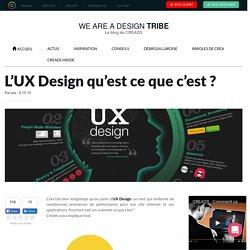 L'UX Design qu'est ce que c'est ?