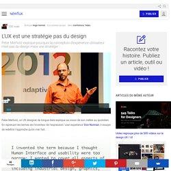 L'UX est une stratégie pas du design