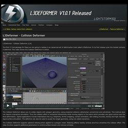 L3Deformer – Collision Deformer