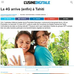 La 4G arrive (enfin) à Tahiti