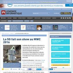 La 5G fait son show au MWC 2016