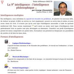 La 9e intelligence