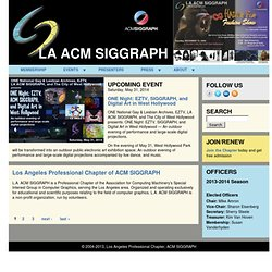 Los Angeles ACM SIGGRAPH