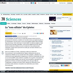 "La ""non-affaire"" du Cytotec"