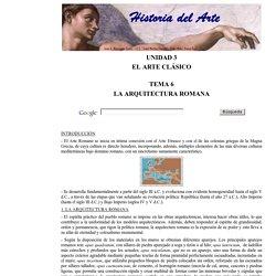 La Arquitectura Romana 1 de 3