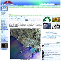 La Baie de Naples vue de l'espace