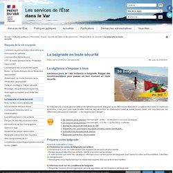 La baignade en toute sécurité - L'Etat dans le Var - Préfecture de Toulon (83)