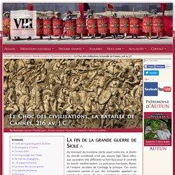 La bataille de Cannes, 216 av. J.C.