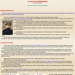 La bataille de Morhange : 20 août 1914