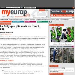 La Belgique plie mais ne rompt pas