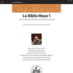 La Biblia Maya 1