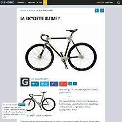 La bicyclette ultime ?