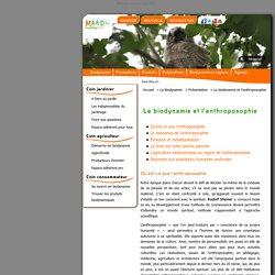 La biodynamie et l'anthroposophie