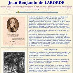 Jean-Benjamin de La Borde, né en 1734 guillotiné en 1794