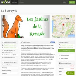 La Boureyrie — WWOOF France