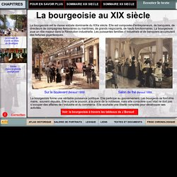 La bourgeoisie au XIX siècle