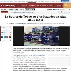 Bourse : La Bourse de Tokyo au plus haut depuis plus