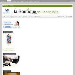 La boutique en ligne de Centre Inffo