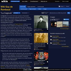 ''La Cagoule'' - Wiki Guy de Rambaud