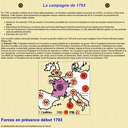 La campagne de 1793