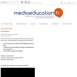 La caricature - mediaeducation.fr