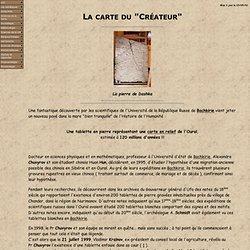 """La carte du """"Créateur"""""""