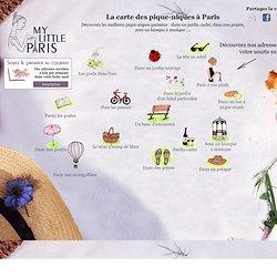 La carte des pique-niques à Paris