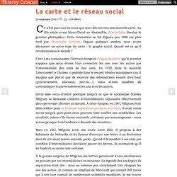 La carte et le réseau social