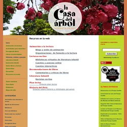 La casa del árbol: Recursos en la web