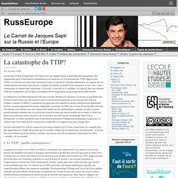 La catastrophe du TTIP?