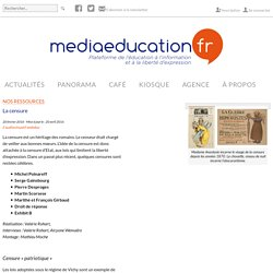 La censure - mediaeducation.fr