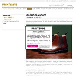 La chelsea boot - Printemps.com