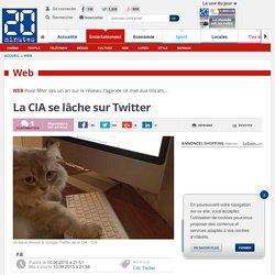 La CIA se lâche sur Twitter