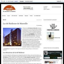 La cité Radieuse de Marseille