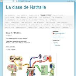 La clase de Nathalie: Clase 29 (15/9/2015)