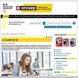 La 3ème générale - Onisep