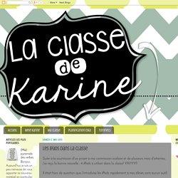 La classe de Karine: Les iPads dans la classe