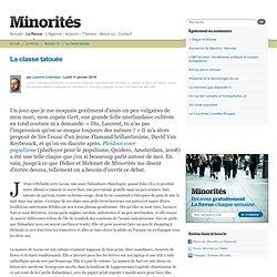 Minorités