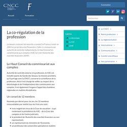 La co-régulation de la profession du CAC avec le H3C