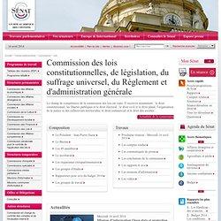 La commission des lois