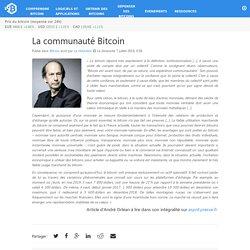 La communauté Bitcoin