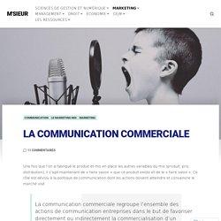 La communication commerciale – M'SIEUR