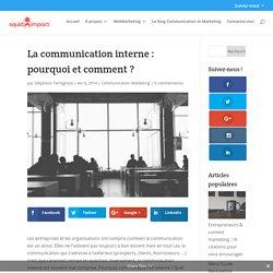 La communication interne : pourquoi et comment ?