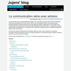 Limpide : La communication série avec arduino
