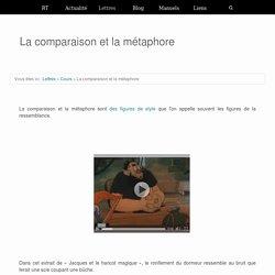 La comparaison et la métaphore