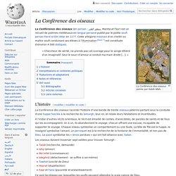 La Conférence des oiseaux