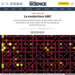 La conjecture ABC